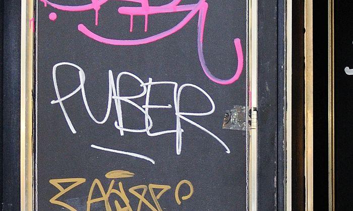 Archivbild: Ein ''Puber''-Tag in Wien-Neubau