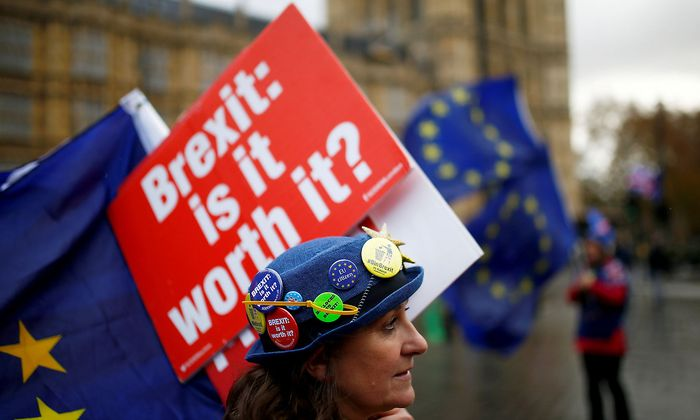 Anti-Brexit-Demonstration in London.