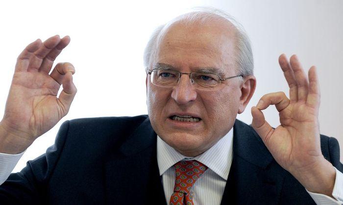 Nationalbankpräsident Claus Raidl