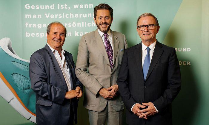Wechsel an der SVA Spitze: Harald Mahrer und Karlheinz Kopf folgen auf Christoph Leitl und Alexander Herzog