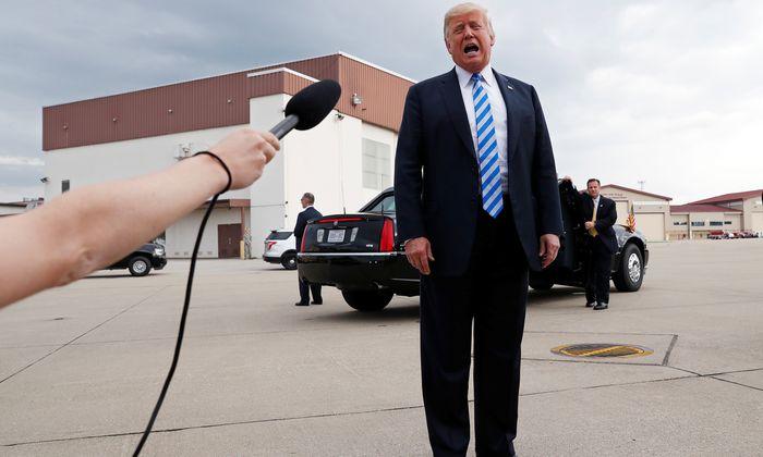 Donald Trump nimmt zur Verurteilung von Paul Manafort Stellung.