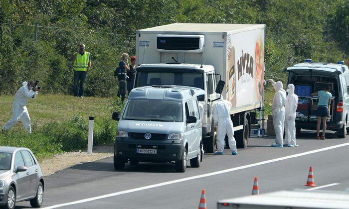 Bei Parndorf im Burgenland wurden im August 2015 die Leichen der 71 Flüchtlinge gefunden.