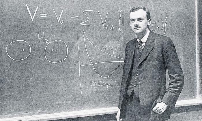 """""""Physikalische Gesetze sollten mathematische Schönheit besitzen."""" Paul Dirac (1902–1984)."""