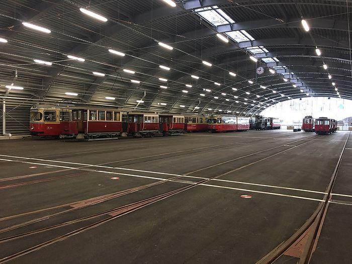 Neue Remise der IVB, Innsbruck.
