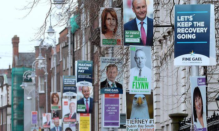Irland vor der Parlamentswahl