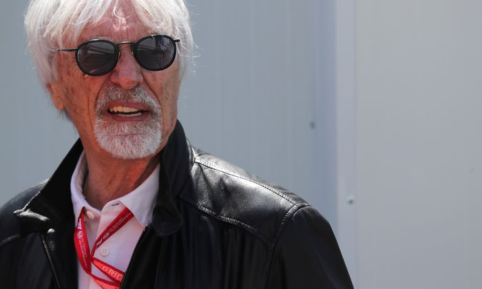 Bernie Ecclestone ist Fan von Spielberg.