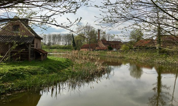 Ein Fest für Pieter Bruegel: die alte Brauerei in Dilbeek.