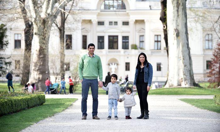 Vier Sprachen gibt es in der Familie von Natalie und Samer.