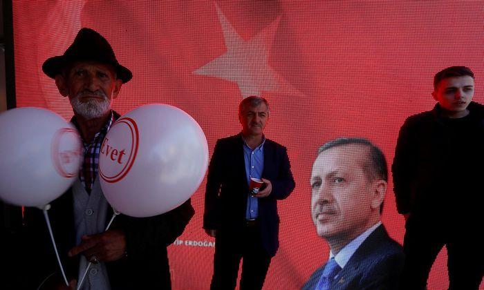 Anhänger des türkischen Präsidenten Erdogan.