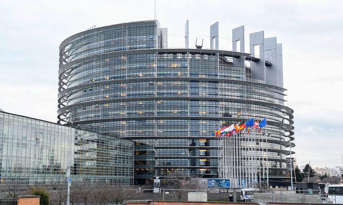Das Europaparlament in Strassburg.