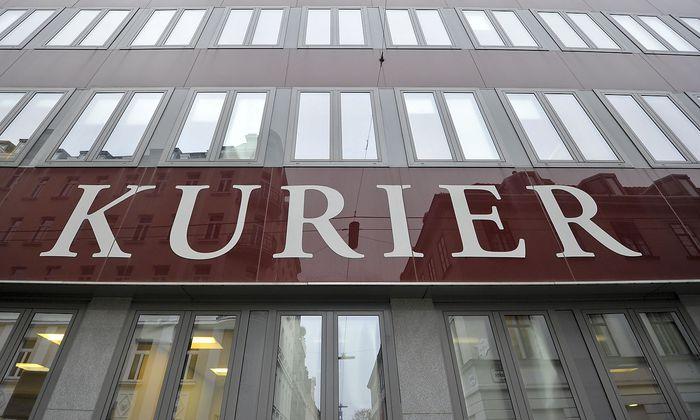 GEBAeUDE DER TAGESZEITUNG 'KURIER'