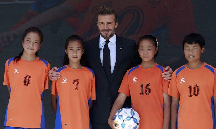 Ex-Profi David Beckham ist Botschafter der Luneng Group (Besitzerin des Klubs Shandong Luneng) und leistet Schützenhilfe für Chinas Fußball-Masterplan.