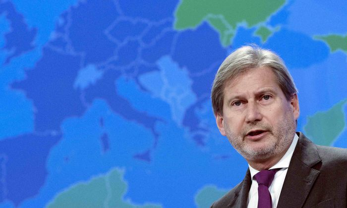 EU-Kommissar Johannes Hahn.