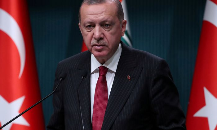 Präsident Erdoğan.