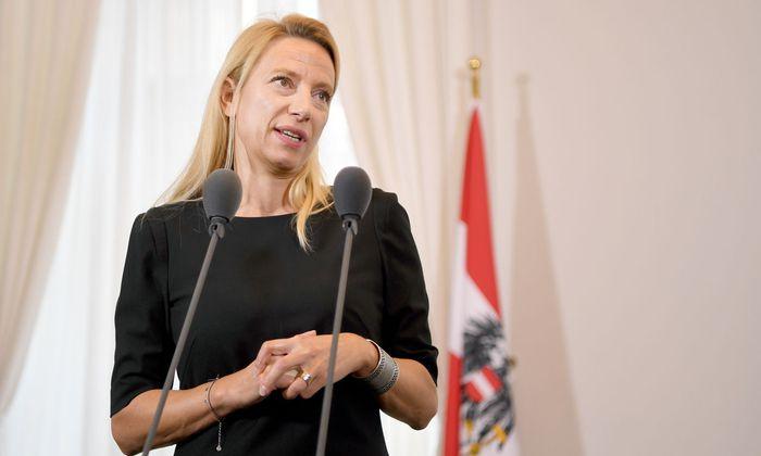 Frauenministerin Juliane Bogner-Strauss (ÖVP)
