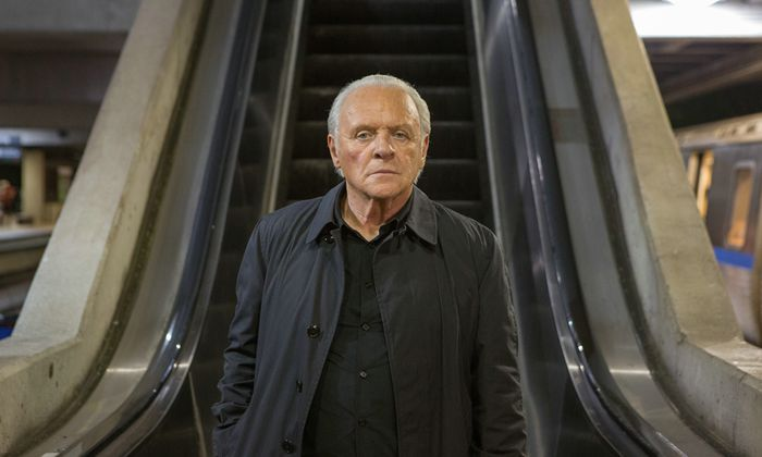 "Anthony Hopkins in ""Die Vorsehung""."