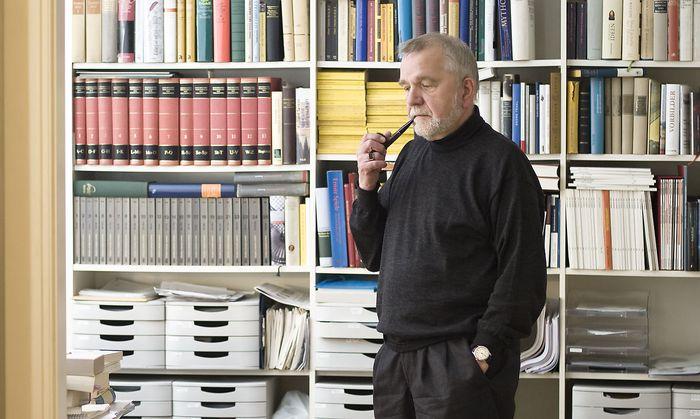 """Rüdiger Safranski: """"Der Wohlfahrtsstaat setzt den Nationalstaat voraus."""""""