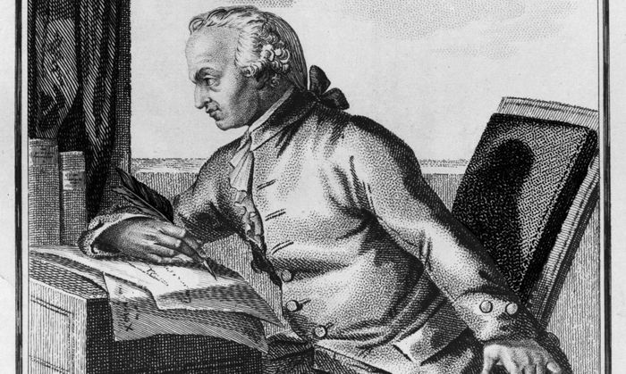 Symbolbild: Porträt von Immanuel Kant