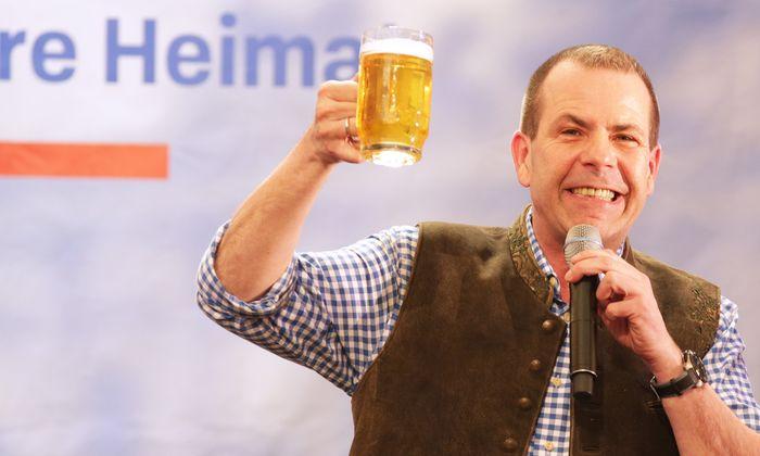 """Ein neuer Vertrag könnte """"die Aufhebung des Einstimmigkeitsprinzips und noch mehr EU-Zentralismus bedeuten"""", sagte der freiheitliche Spitzenkandidat für die EU-Wahl, Harald Vilimsky."""
