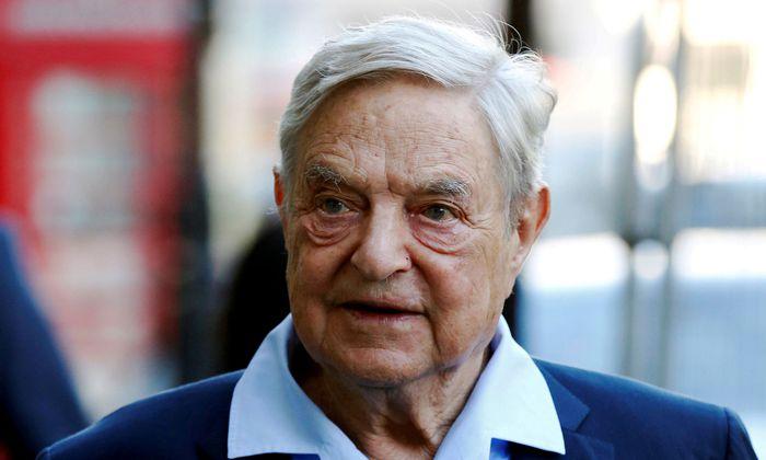 Milliardär und Philanthrop George Soros