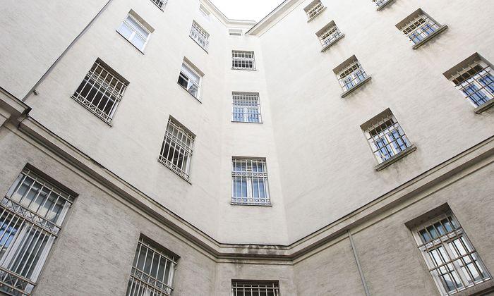 Archivbild: Das Polizeianhaltezentrum Rossauerlände