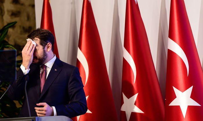 Finanzminister Berat Albayrak konnte die Märkte nur kaum, und die Bevölkerung gar nicht beruhigen.