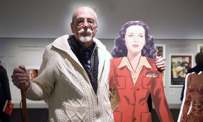 Anthony Loder hat für die Hedy-Lamarr-Schau im Museum am Judenplatz deren Nachlass zur Verfügung gestellt.