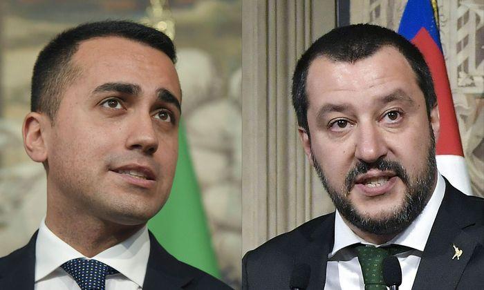 Luigi Di Maio, Matteo Salvini.