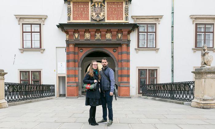 Júlia N. und Lukács László sind Teil der ungarischen Community in Wien.