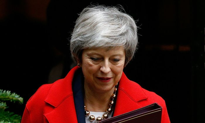 Theresa May hat einen herben Rückschlag erlitten
