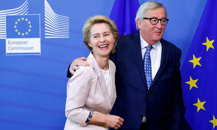 Ursula von der Leyen und Jean-Claude Juncker.