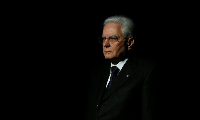 Staatspräsident Sergio Mattarella