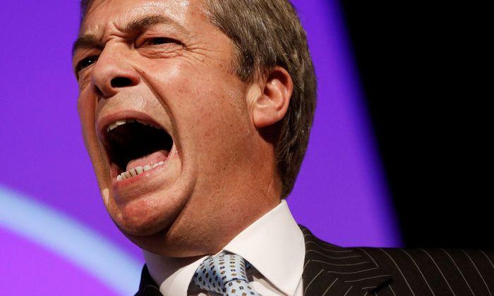 Brexit-Vorkämpfer Nigel Farage ist unzufrieden über Kurs seiner Partei