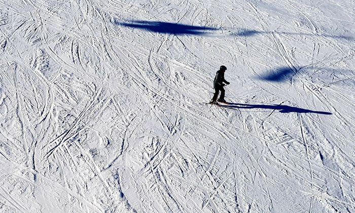 Wenn auf der Karte Spargel steht, ist es vorbei mit dem Skifahren, auch wenn der Schnee noch meterhoch liegt.