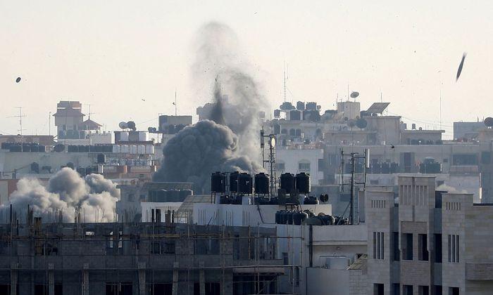 Beschuss von Gaza-Stadt