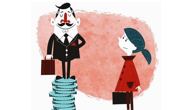 Frauen verdienen nicht weniger als Männer, sie bekommen nur weniger bezahlt.
