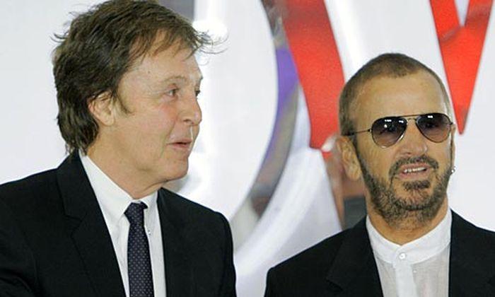 Paul McCarntey und Ringo Starr