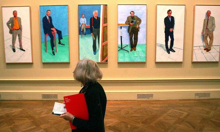 Ausstellung in der Royal Academy of Arts.
