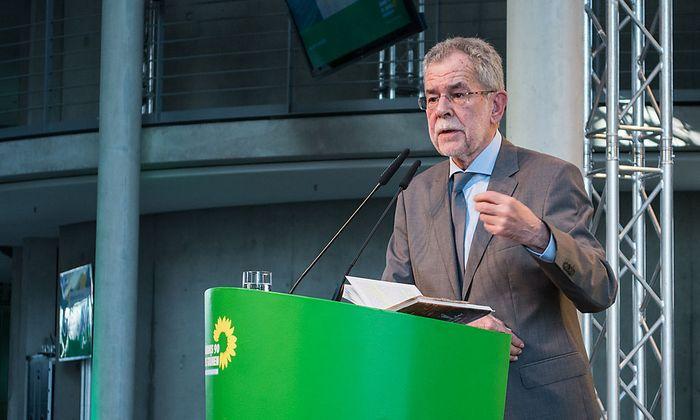 Alexander Van der Bellen in Berlin