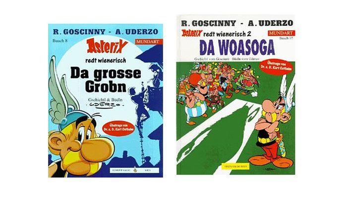 Asterix auf Wienerisch