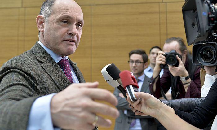 Der Innenminister in spe: Wolfgang Sobotka.