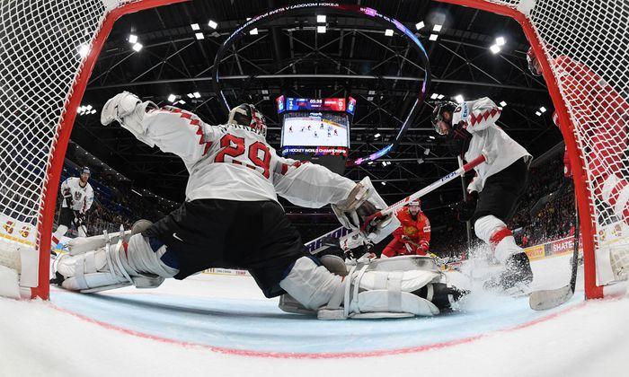 Ice Hockey World Championships - Group B - Russia v Austria