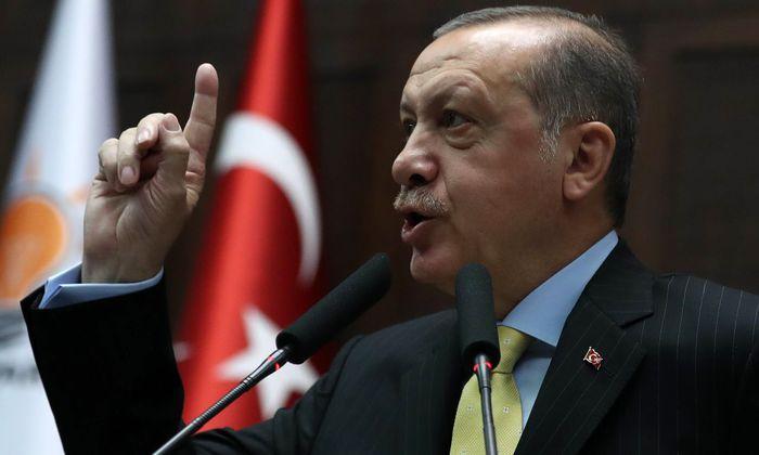 Der türkische Präsident, Recep Tayyip Erdoğan.