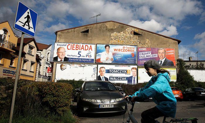 Polen wählt: Auf dem Land zählen Tradition, Kirche und soziale Anliegen.
