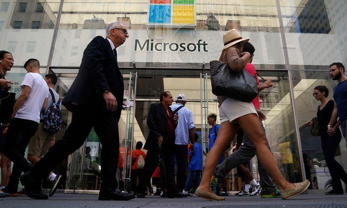 Microsoft schaffte kurzzeitig den Sprung zum Billionen-Dollar-Unternehmen.