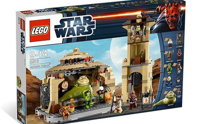 Lego Jabba