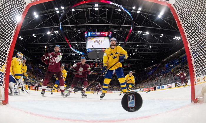 Ice Hockey World Championships - Group B - Sweden v Latvia