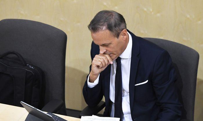 Finanzminister Eduard Müller