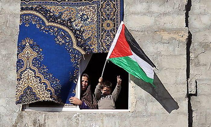 Palästinenser ersuchen EU um Staats-Anerkennung