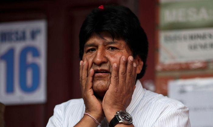 Evo Morales strebt eine vierte Amtsperiode an